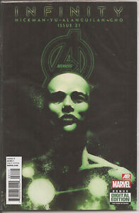 °AVENGERS #21: AVENGERS UNIVERSE PART IV INFINITY TIE IN°US Marvel 2013 Hickman