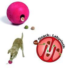 großer Vollgummi Futterball, Snackball - Ball mit Snack-Labyrinth - Hund 47241
