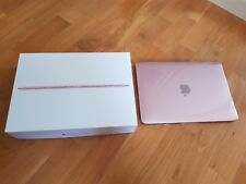 "Apple MacBook a1534 Oro Rosa 256 GB 12"" Laptop-mmgl 2d/a come nuovo! gekaft 2017"