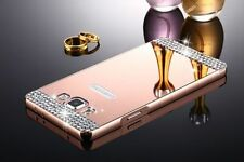 US Bling Aluminum Metal Bumper Mirror Hard Case Cover for Samsung Galaxy Phones