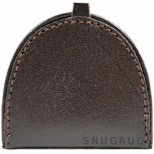 Mens Leather Large Semi Circle Money Tray / Coin Holder / Purse