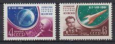 Sowjetunion Russia 1961 ** Mi.2521/22 A Weltraum Space Wostok 2 [st0053]