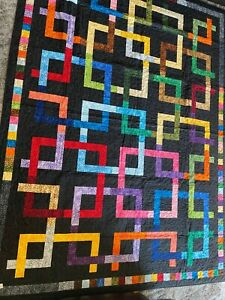 70x94 Bright Weave Quilt
