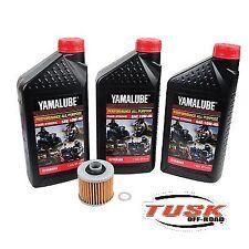Tusk / Yamaha Oil Filter Change Kit-Yamaha Kodiak 400 450 4x4 00-06 2x4 Auto ATV
