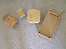 Vintage Strombecker doll furniture LoT of 4 pieces