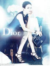 PUBLICITE ADVERTISING 066  2012  Dior  boutique chaussures sac à main