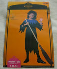 WITCH GIRL COSTUME LARGE 10 12 HALLOWEEN RE-SHIPPING CO. BIDS WILL BE CANCELLED