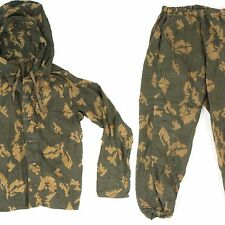 Original Soviet Russian Army Sniper Ghillie Suit Top & Bottom RARE Camouflage