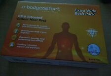NEW BODYCOMFORT Click Activated Instant Heat Pack Back Pain Relief Heating Pad