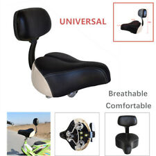 Universal Tricycle Mountain Bike Electric Vehicle Saddle Seat Pad With Back Rest