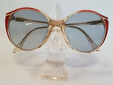 Cazal Vintage Women Sunglasses Mod 133 1980s Made in West Gemany Old School Rare