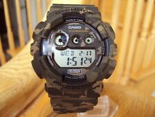 Casio G-Shock Super LED XL Camoflage Brown GD120CM-5