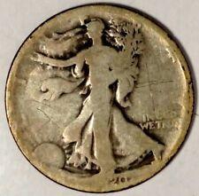 1920-S 50C Walking Liberty Half Dollar 90% Silver 18atl0909 50 Cents Shipping