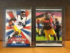 2017 LEAF DRAFT JUJU SMITH-SCHUSTER RC BASE & ALL ANERICAN STEELERS LOT X2