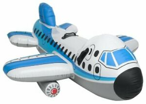 Big Jumbo Jet Ride On 2 place Intex 56538NP Inflatable Toy Airplane Collectable