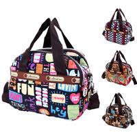 Charm Women'S Shoulder Bag Tote Messenger Cross Body Waterproof Canvas Handbag W