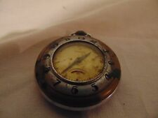 "vintage Ingraham pocket Watch 2"" round"
