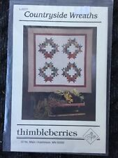 """Countryside Wreaths Thimbleberries LJ 9227 66"""" X 66"""" Quilt Pattern"""