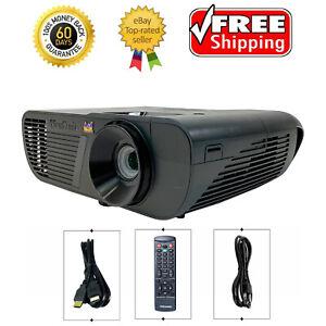 ViewSonic PJD6350 DLP Projector Portable 3300 ANSI 1080p Full HD 3D HDMI Bundle