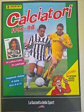 LA RACCOLTA COMPLETA DEGLI ALBUM PANINI CALCIATORI 1993-94 GAZZETTA DELLO SPORT