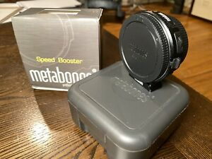 Metabones Speed Booster Ultra 0.71x Adapter for Canon EF to MFT