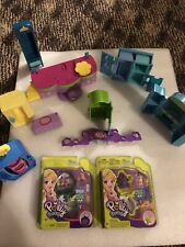 Lot Of Polly Pocket / Dollhouse Furniture + 2 New Mini Compacts!