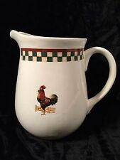 Betty Crocker COUNTRY INN COLLECTION by Citation Rooster & Apple Pitcher 64 oz.