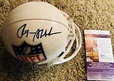 Roger Staubach /Dallas Cowboys  Signed White NFL Mini Helmet HOF JSA T26521
