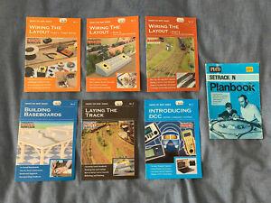 7 x Model Railroad Pocket Guides