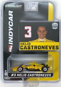1:64 2020 Greenlight Helio Castroneves  #3 Pennzoil Team Penske  IndyCar Diecast