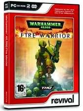 Warhammer 40 000 Fire Warrior PC CD ROM - 2 CDs