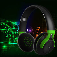 Wireless Sports Bluetooth Stereo Headset Headphone for Smart Phones iPhone