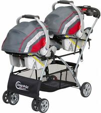 Twin Stroller Double Baby Brothers Trend Universal Frame Infant Car Seats Basket