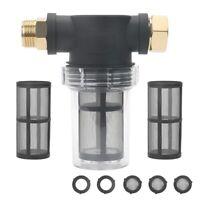 3/4-Zoll Garten Schlauch Filter für Hocruck Reiniger Einlasswasser, Sedimen Z8Y1