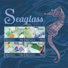 Micronesia- Seaglass Stamp - Sheet of 4 MNH