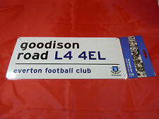 Everton FC Decorative Metal Stadium/Street Sign - Official Merchandise