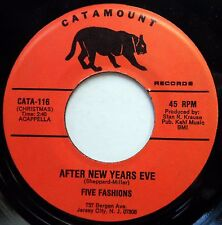FIVE FASHIONS / DAVE WILLIS &.. 45 After New Years Eve NEAR MINT Doo Wop bb3154