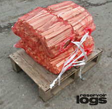 4 Nets Kindling Wood for Fire Stove UK Wide FREE FAST Delivery READY TO LIGHT