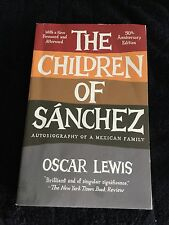 The Children of Sanchez Autobiography of a Mexican Family 9780307744531