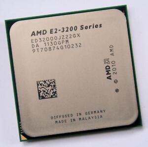 AMD E2-3200 Series (ED3200OJZ22GX) Dual-Core 2.4GHz Socket FM1 CPU + Radeon GPU