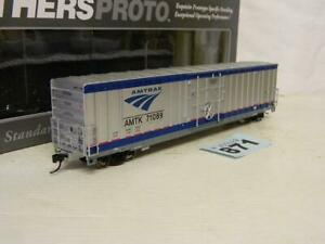 Walthers HO 60ft Gunderson Express Box Wagon Amtrak Phase IVb Box 920-102201