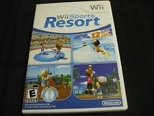 Replacement Case (NO GAME) WII SPORTS RESORT  NINTENDO WII