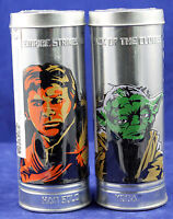 Star Wars Yoda Dooku Solo Fett Wristwatch 2005 Burger King Exc. Sealed Set of 2