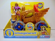 Imaginext DC Super Friends Hippolyta & Battle Chariot Wonder Woman Edition NEW