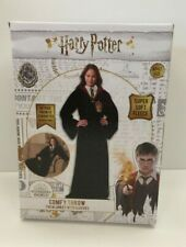 Harry Potter Robes Comfy Throw Hogwarts Rules Fleece Blanket w/ Sleeves Adult Sz