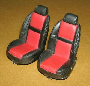 1/18 Scale BMW Z8 Front Bucket Seats (2 pcs) Hot Wheels Car Model Parts