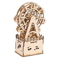 Wood Trick DIY Toy Piano Music Box 3D Wooden Puzzles Kits Assembly Toy