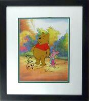 Disney Winnie the Pooh Piglet Cel Sericel Signed Voice Jim Cummings BEST Friends