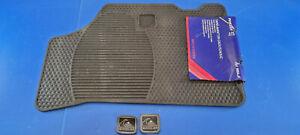 Paire de tapis avant en caoutchouc PEUGEOT 106 3 / 5 portes QUICKSILVER NEUFS