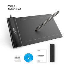 OSU!VEIKK S640 Ultra-thin 6x4 Inch Digital Drawing Pen Tablet with Passive Pen